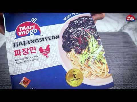 Unboxing MariMogo Jjajangmyeon Ready To Eat