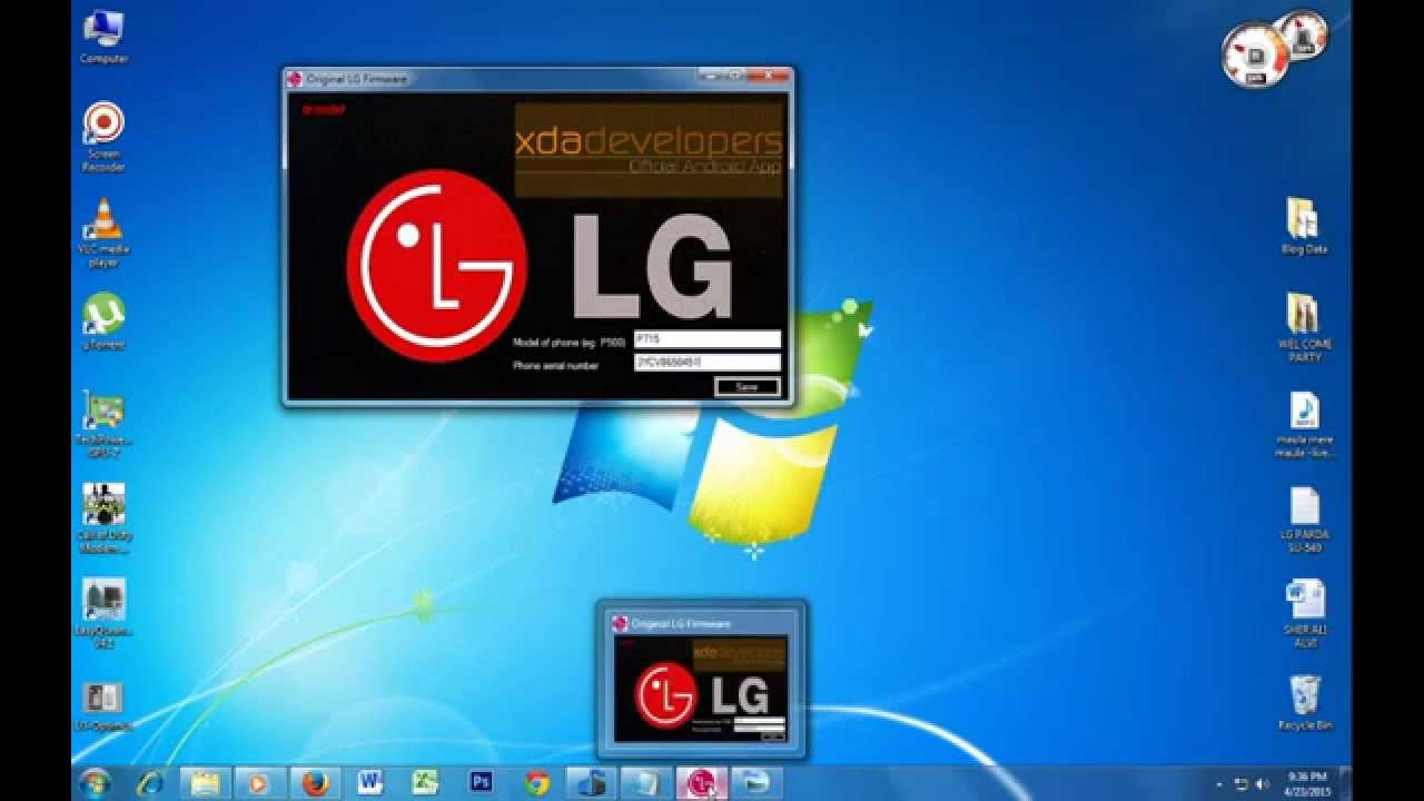 How to Download LG KDZ Rom