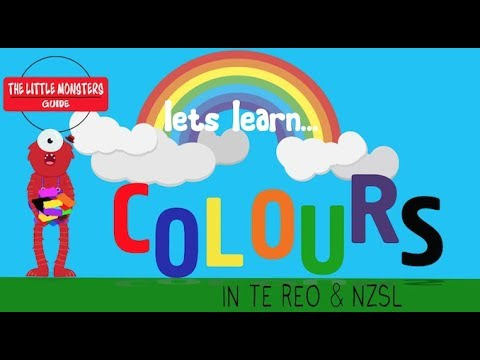 COLOURS in Te Reo NZSL