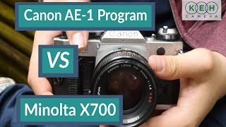 Comparison Review: Canon AE-1 Program VS Minolta X700
