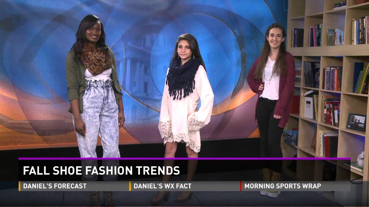 Fall Shoe Fashion Trends on WLTX News 19