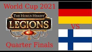 Horus Heresy Legions World Cup Quarter Finals Germany vs Nordics Part1