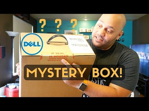 MYSTERY BOX?!?! Dell XPS 13 + Accessories Unboxing!