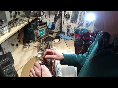 Loewe Opta Type 5966 Video #2 - Initial Power Up