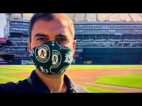 "Dave Kaval Oakland Athletics President Says ""Let's Do This: Athletics Spring Training 2.0"" Coliseum"