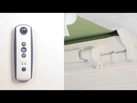 Somfy Rts Electric Roller Blinds Programming Single