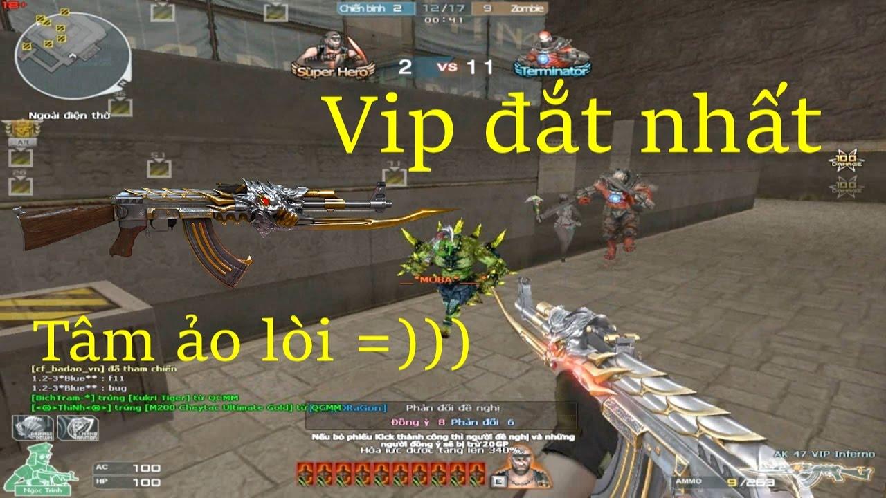 [ Bình Luận CF ] AK-47 VIP Inferno - Tiền Zombie v4 - YouTube