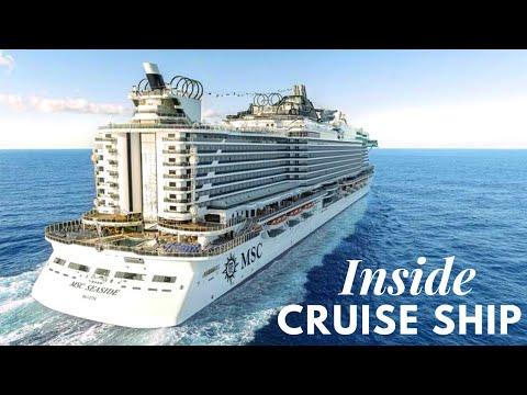 How it looks inside Cruise Ship | MSC Seaside