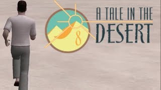HOW BIG IS THE MAP in A Tale in the Desert? Run Across the Map
