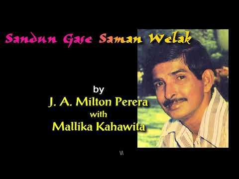 SANDUN GASE SAMAN WELAK By J A Milton Perera With Mallika Kahawita