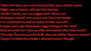 J cole The Cure Lyrics