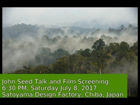 John Seed at Satoyama Design Factory Chiba Japan 2017