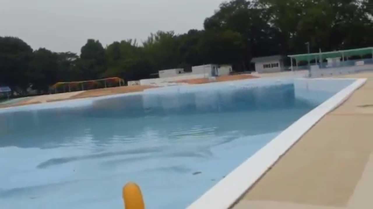 一 プール 人 公園 万 井頭