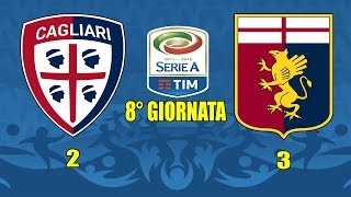 Video Gol Pertandingan Cagliari vs Genoa
