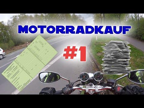 ERSTE INFORMATIONEN - PAPIER CHECK    MOTORRAD KAUF #1    MotoMünster