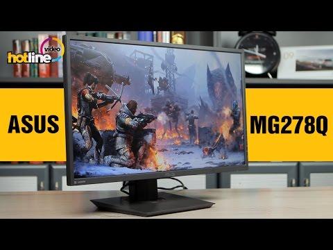 ASUS MG278Q - обзор игрового монитора