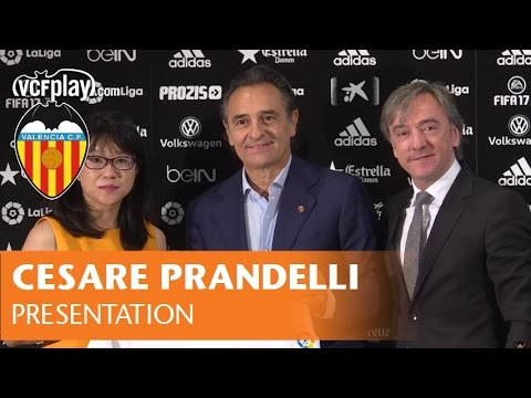 CESARE PRANDELLI PRESENTATION | VALENCIA CF