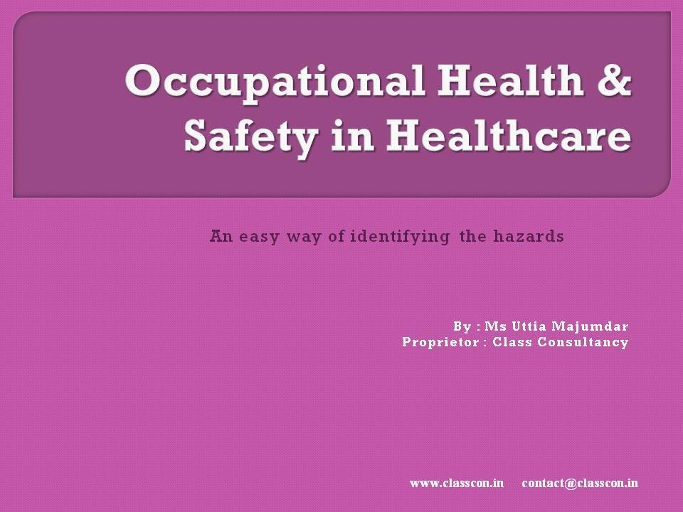 occupational safety and health and social care Care planning catalysis  health (social science) health, toxicology and mutagenesis  public health, environmental and occupational health.