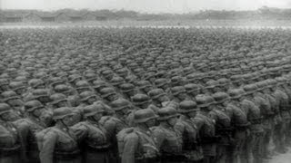 HD Historic Stock Footage WWII China Plans Army of 26,000,000! - Chiang Kai-shek