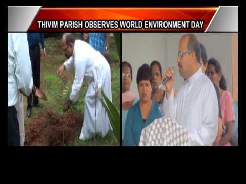 #Thivim #Parish Observes World #Environment Day