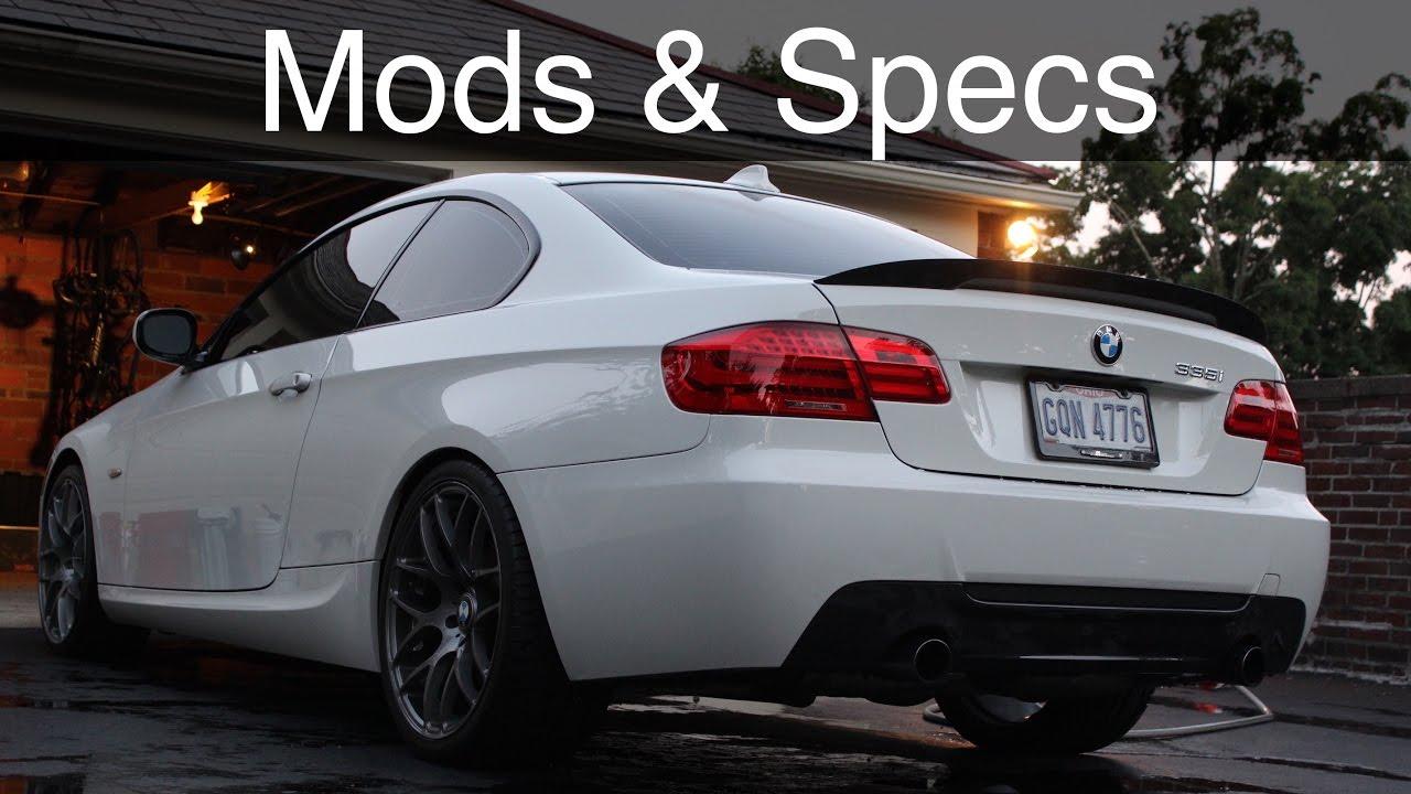 Bmw 335i Cur Mods Specs