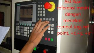 Pemesinan CNC Menghidupkan mesin CNC