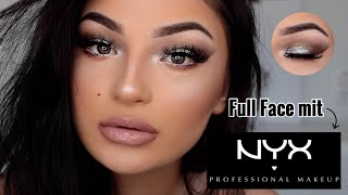 FULL FACE mit NYX Produkten + First Impression | Dilara Duman