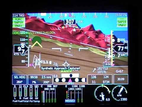GRT HX efis JAC WY landing
