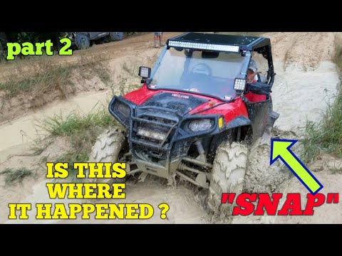 Polaris RZR, HOW to replace axle because of popping noise Part 2