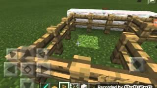 Como fazer uma mesa de ping pong no minecraft pe