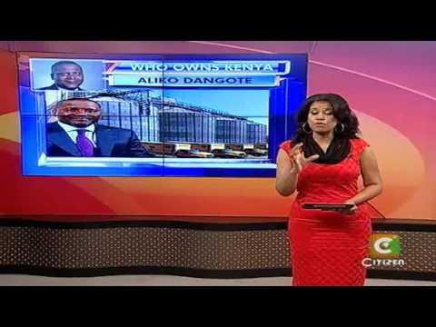 Who Owns Kenya: Aliko Dangote