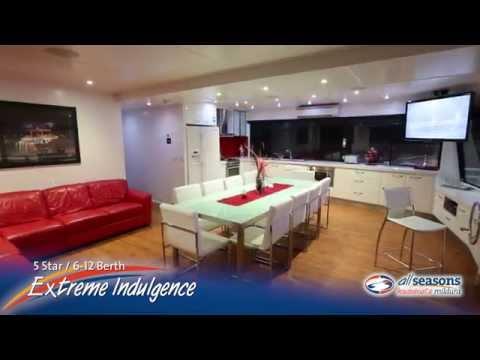 Extreme Indulgence Houseboat - All Seasons Houseboats Mildura