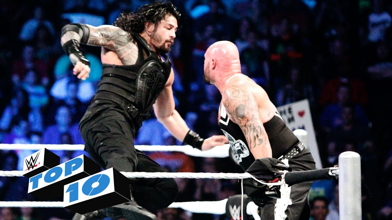 Top 10 Smackdown Moments Wwe Top 10 May 5 2016 Youtube