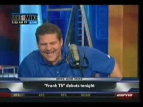 frank caliendo on espn mike and mike in the morning youtube. Black Bedroom Furniture Sets. Home Design Ideas