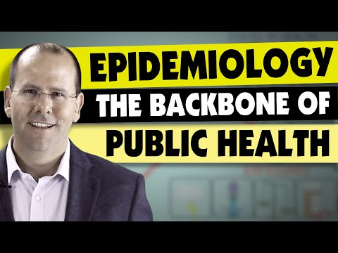 Epidemiology   the backbone of public health