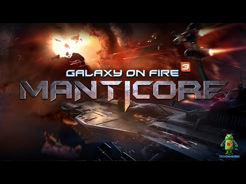 Galaxy on Fire 3 Manticore iOS / Android Gameplay HD