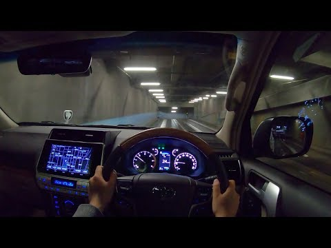 【Test Drive】2018 TOYOTA LANDCRUISER PRADO TRD Package TZ-G Diesel 4WD - POV Night Drive