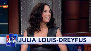 """Download Julia Louis-Dreyfus: """"Downhill"""" Is About Good People Making Bad Choices And Seeking Redemption Mp3 and Videos"""