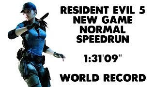 Resident Evil 5 - New Game Speedrun - 1:31