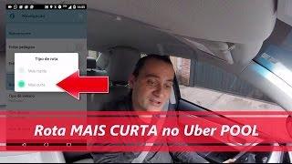 Rotas no Uber POOL