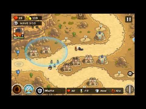 Kingdom Rush Frontiers - Sape Oasis 3 Stars E3