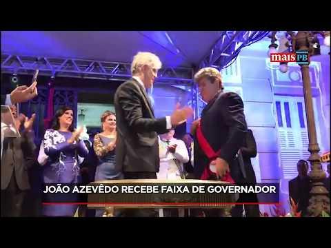Ricardo Coutinho transmite Governo da Paraíba para João Azevêdo