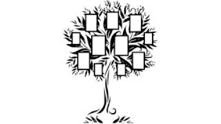 как нарисовать семейное дерево,how to draw a family tree,