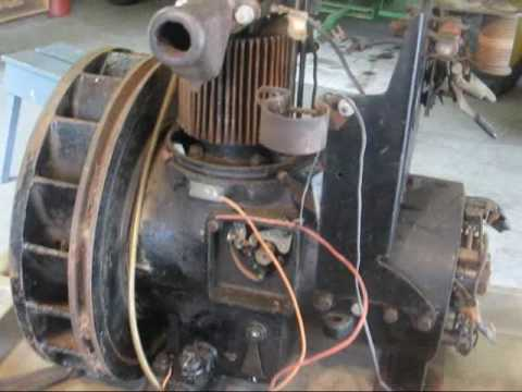 antique DELCO LIGHT PLANT generator tubalcain  YouTube