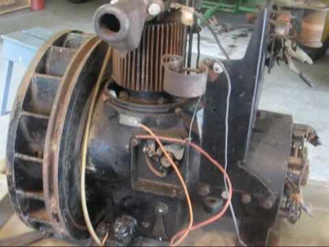 antique DELCO LIGHT PLANT generator tubalcain - YouTube