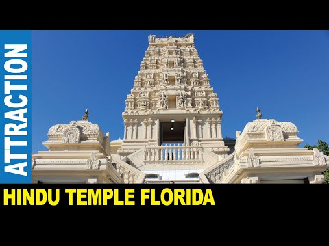 Jarek presents : HINDU TEMPLE OF FLORIDA CULTURAL PRAYER MEDITATION CENTER, Tampa USA