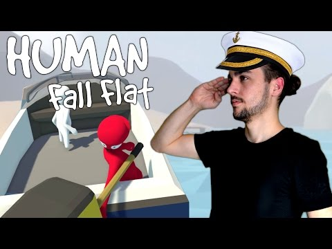 GUILLAUME CAPITAINE DE BATEAU| HUMAN FALL FLAT COOP #4 FR