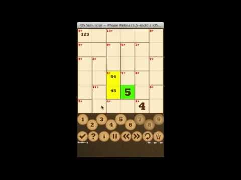'Killer-Sudoku Free' on iOS and Android