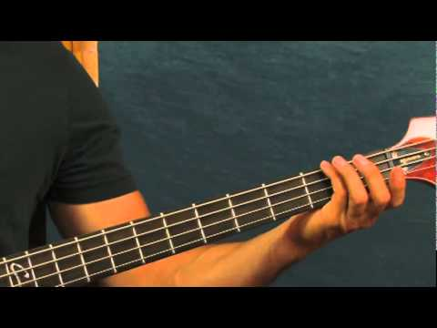 free bass guitar lesson amber  311