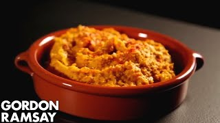 Gordon Ramsay's Roasted Squash Hummus Recipe